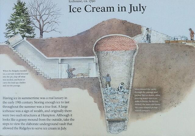 Обустройство ледника