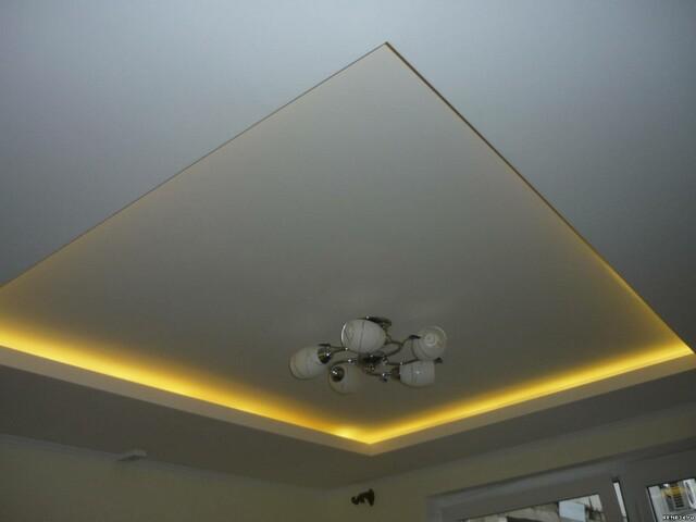 Двухуровневые потолок из гипсокартона своими руками