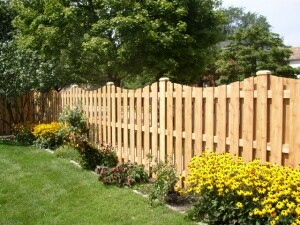 Деревянный забор своими рук фото 291