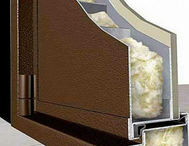 утеплнная металлическая дверь